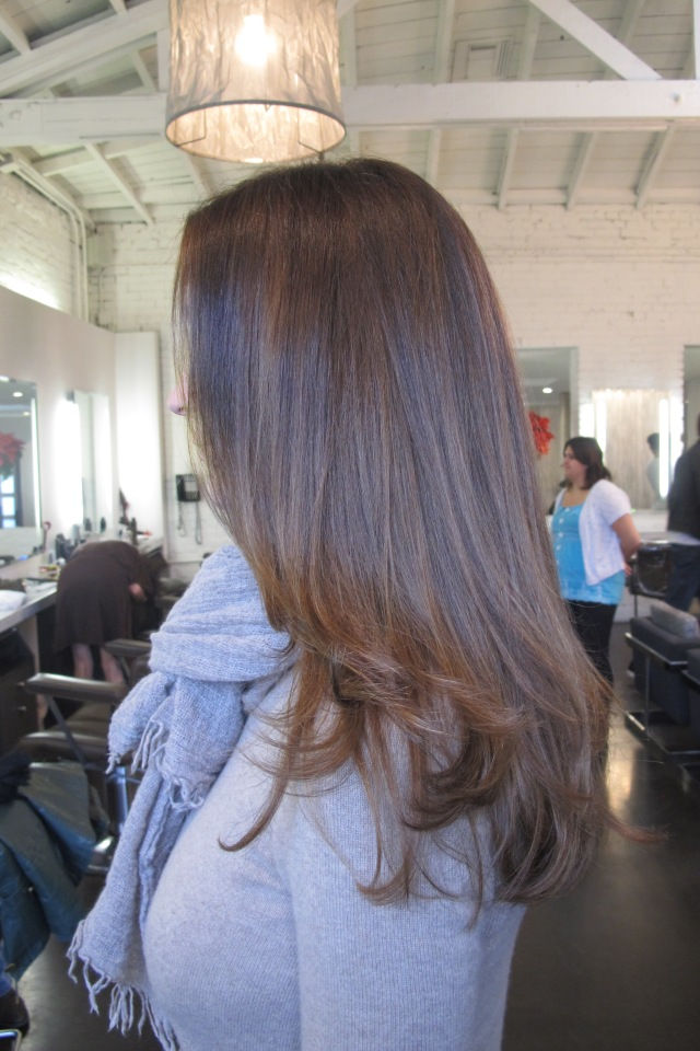 chocolate brunette hair color