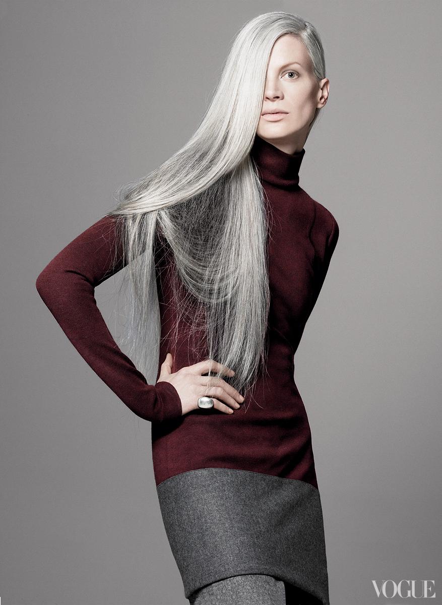 Kristen McMenamy Gray Hair
