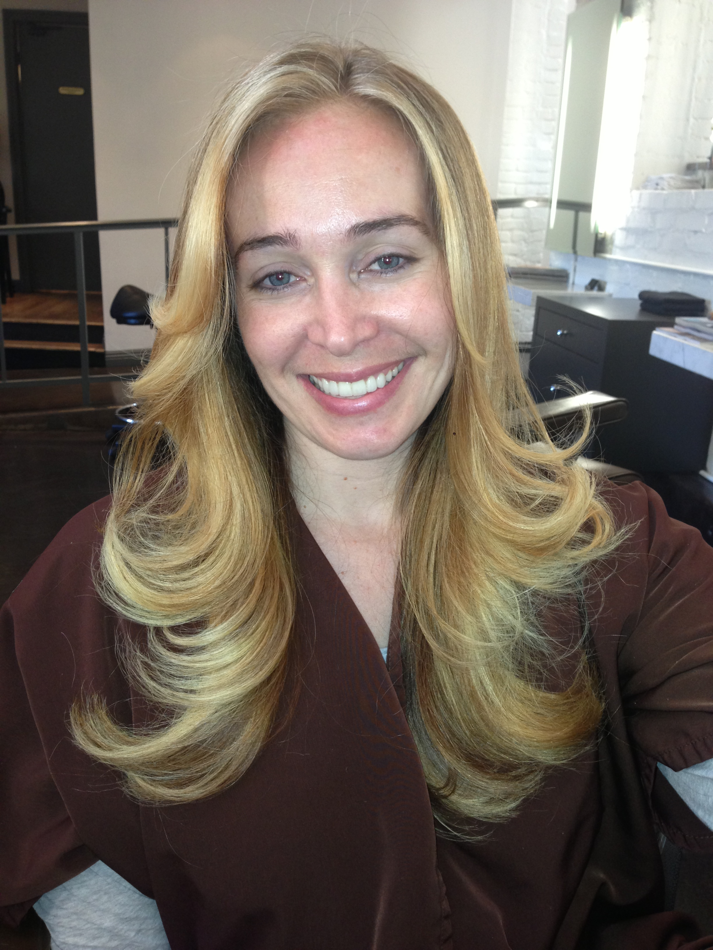 Hair Makeover: From Black to Blonde – JONATHAN & GEORGE