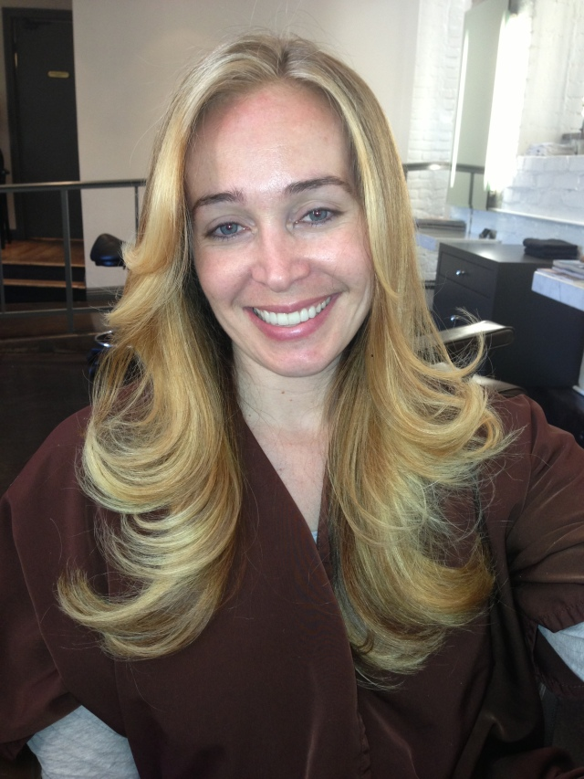 blonde hair color correction