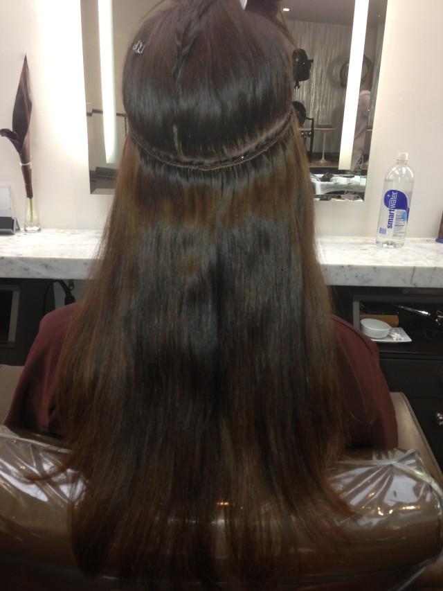 natural hair wefts