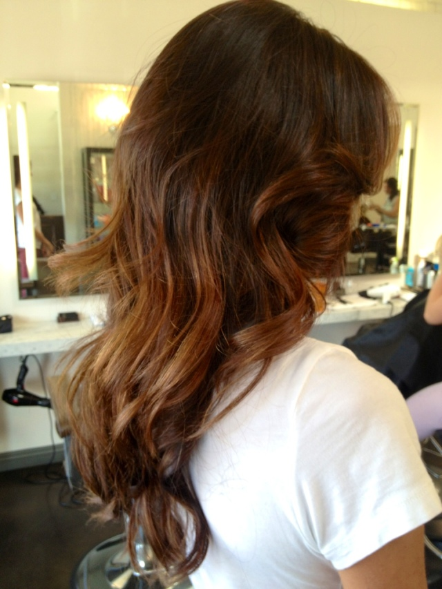 balayage highlights