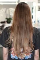 long hair makeover