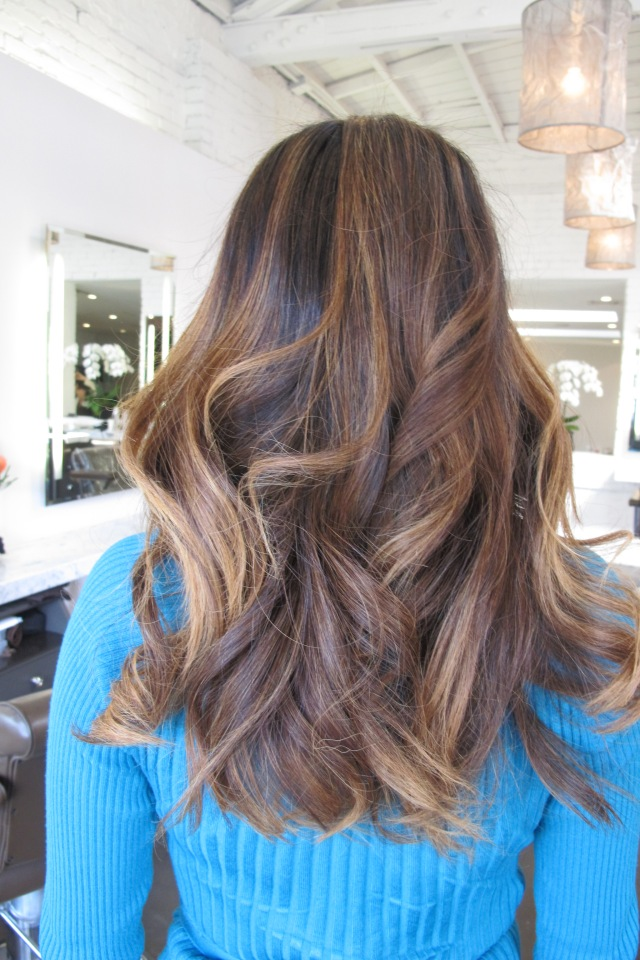 Beautiful Brunette Highlights Jonathan Amp George