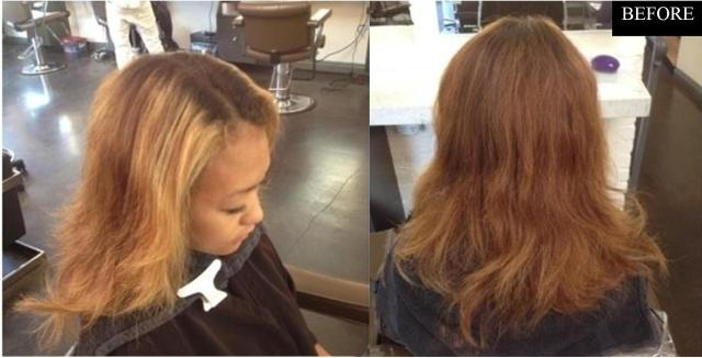 fix brassy hair color