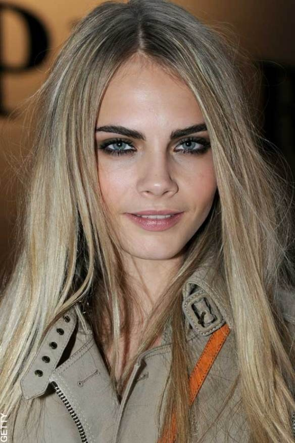 cara delevingne natural blonde