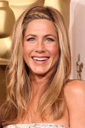 jennifer aniston hair braid