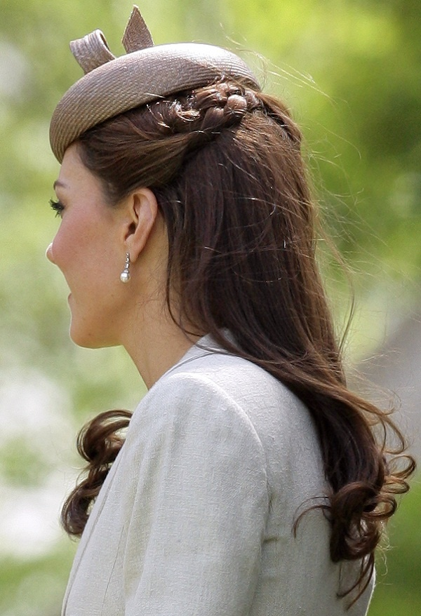 kate middleton braid