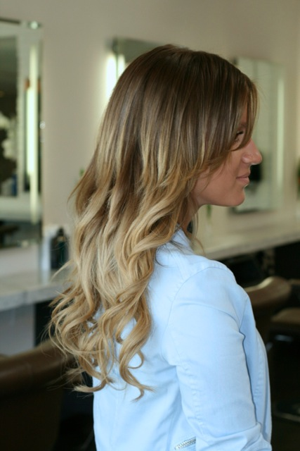 natural ombre hair color