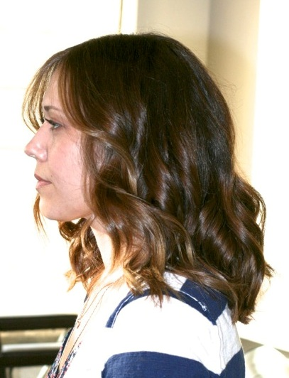 rich brunette highlights