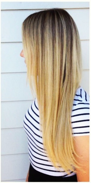 blonde extensions 2013