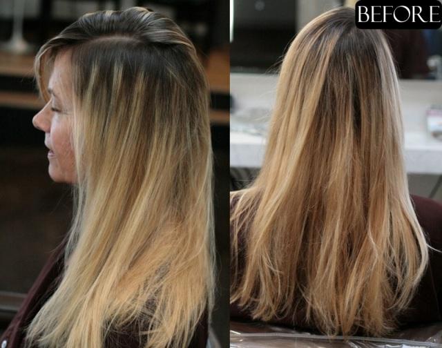 blonde hair makeover 2013