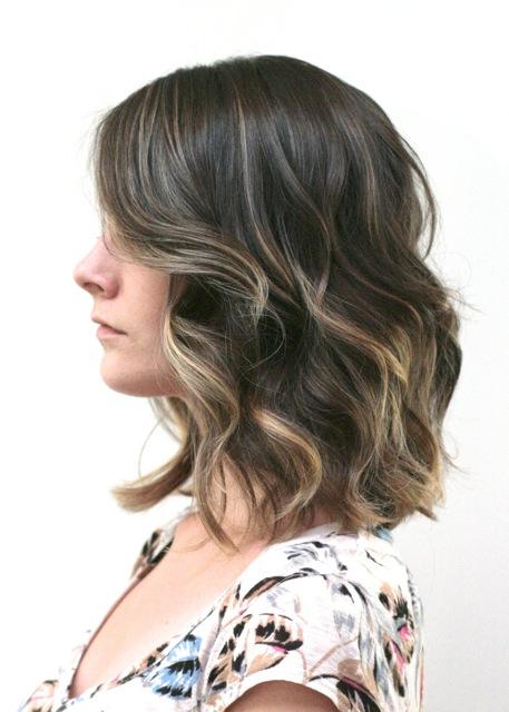 Brunette ombre short hair jonathan george - Ombre hair brune ...