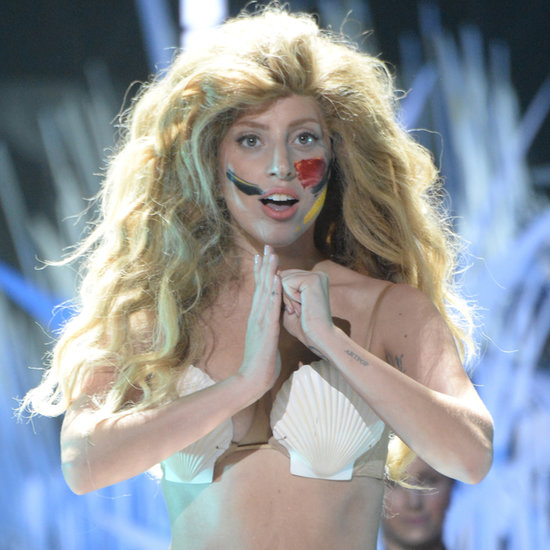 lady gaga mermaid outfit vmas 2013