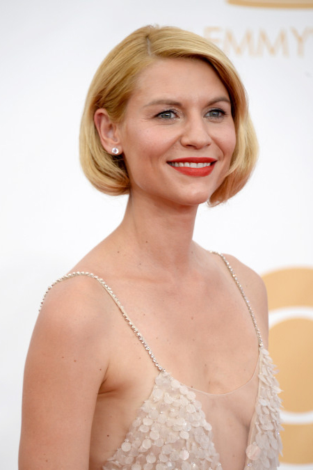 claire danes hair emmys 2013