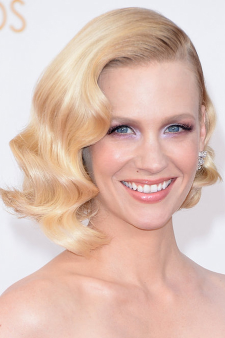 january jones hair emmys 2013