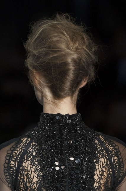 textured updo tom ford