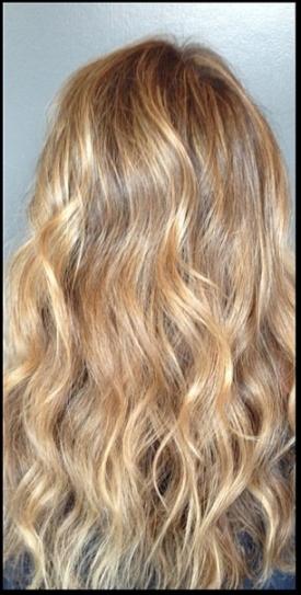 dark blonde hair color