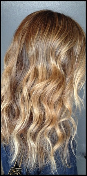 golden blonde hair color