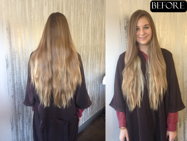hair makeover before and after – JONATHAN & GEORGE