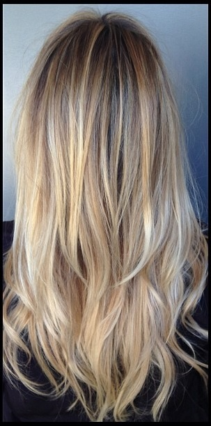 Natural Blonde Hair With Highlights blonde hair color chart ...