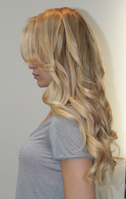 Medium Natural Blonde Hair Extensions 50