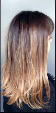 ombre hair color 2013