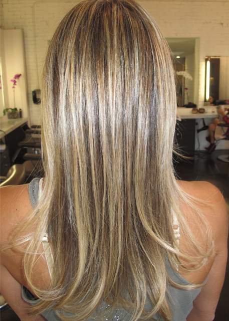Hair Colors Brown And Blonde Highlights