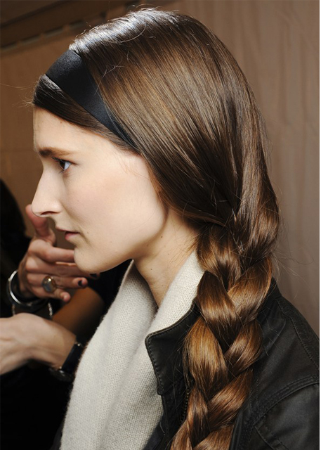 valentino hair fall 2013