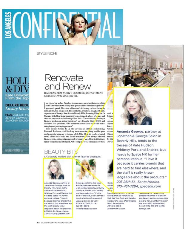 amanda george la confidential magazine