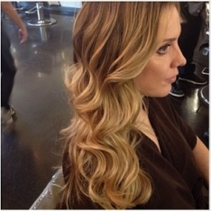 blonde highlights 2013