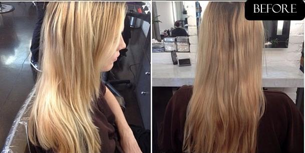 Caramel Blonde Natural Hair