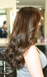 brunette highlights 2014