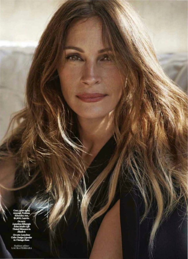 julia roberts december cover marie claire