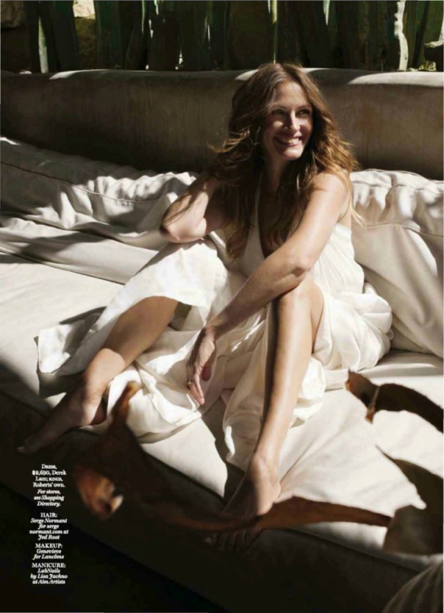 julia roberts natural wonder editorial marie claire
