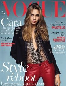 Cara Delevingne Vogue cover January 2014