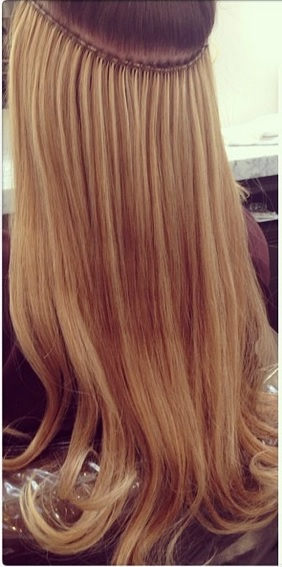 Hand sewn extensions by kacey welch jonathan george hair extensions los angeles hair extensions before and after pmusecretfo Image collections