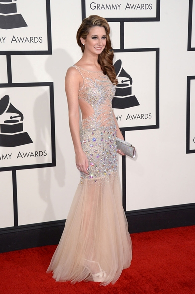 brooklyn haley hair 2014 grammys
