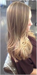 dark blonde with subtle highlights