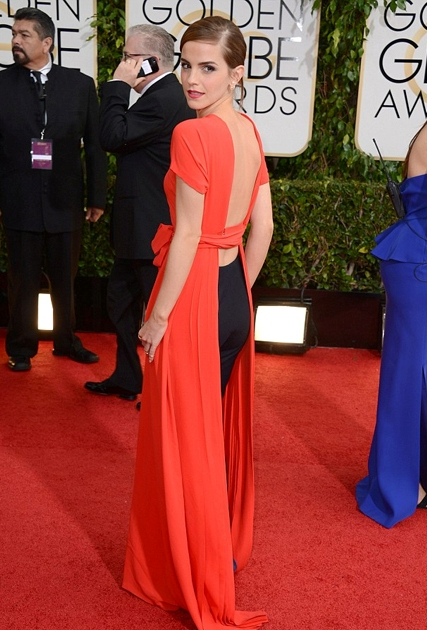 emma watson dress 2014 golden globes
