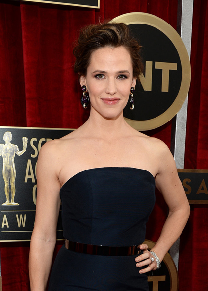 jennifer garner hair sag awards 2014