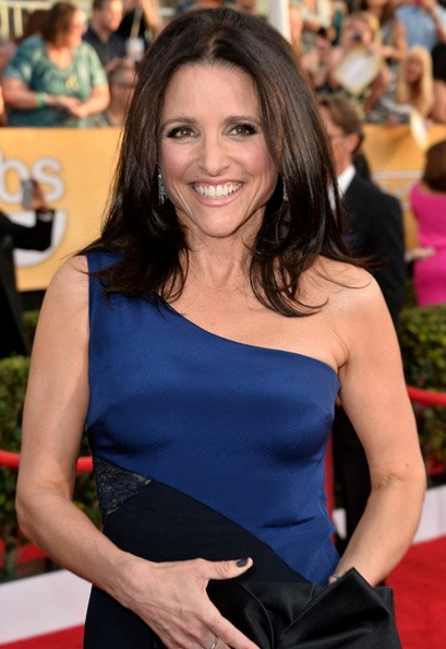 julia louise dreyfus hair sag awards 2014