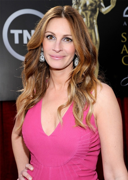 julia roberts hair sag awards 2014
