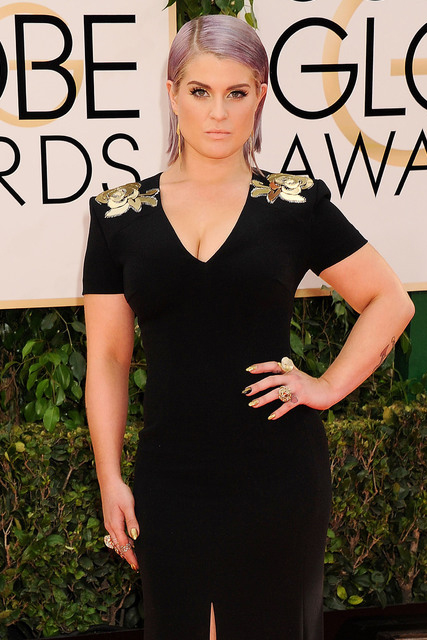 kelly osbourne hair 2014 golden globes