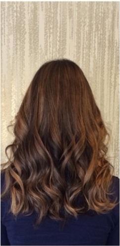 brunette hair color chart