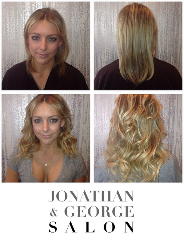 Before After Hair Lingerie Extensions Jonathan George