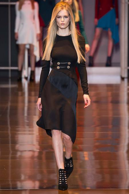 straight hair - versace fall 2014 ftw