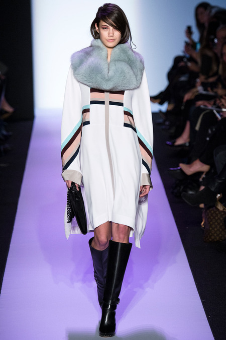 tucked in hair trend - bcbg max azria fall 2014