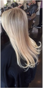 blonde extensions 2014