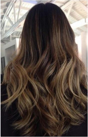 natural brunette hair color ideas